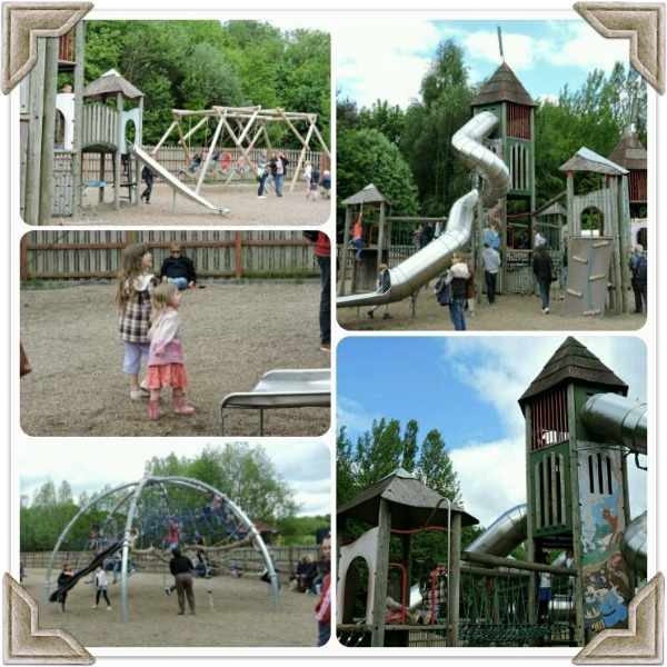 Conkers Waterside Centre playground