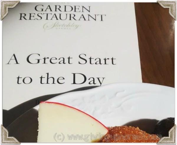 Sketchely Grange Garden Restaurant