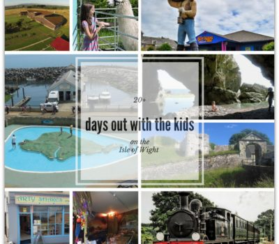 days out with the kids on the IOW