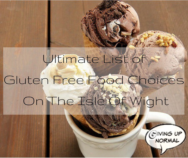 Ultimate List Of Gluten Free Food Choices On The Isle Of